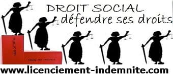 indemnité licenciement
